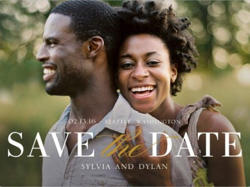 Save The Date Magnets & Invitations