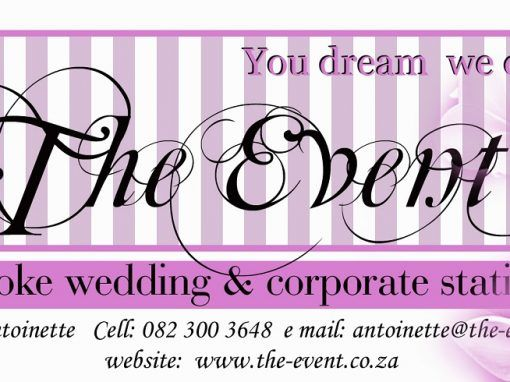 The Event wedding invitations and stationery