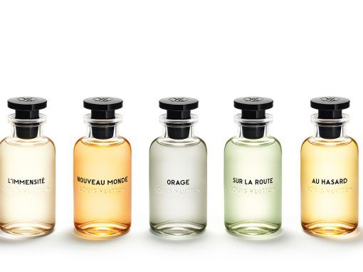 Louis Vuitton launches it's first collection of perfumes for men