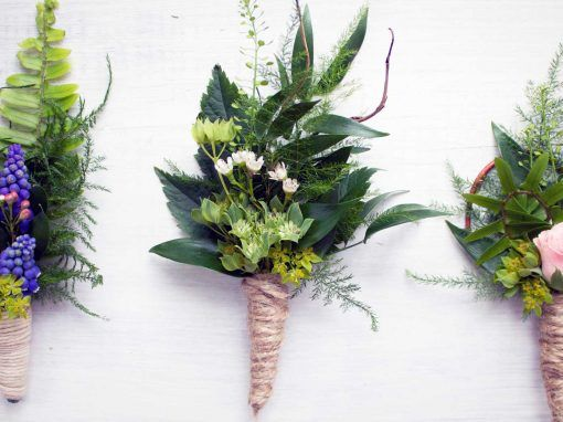7 out-of-the-box Boutonnieres