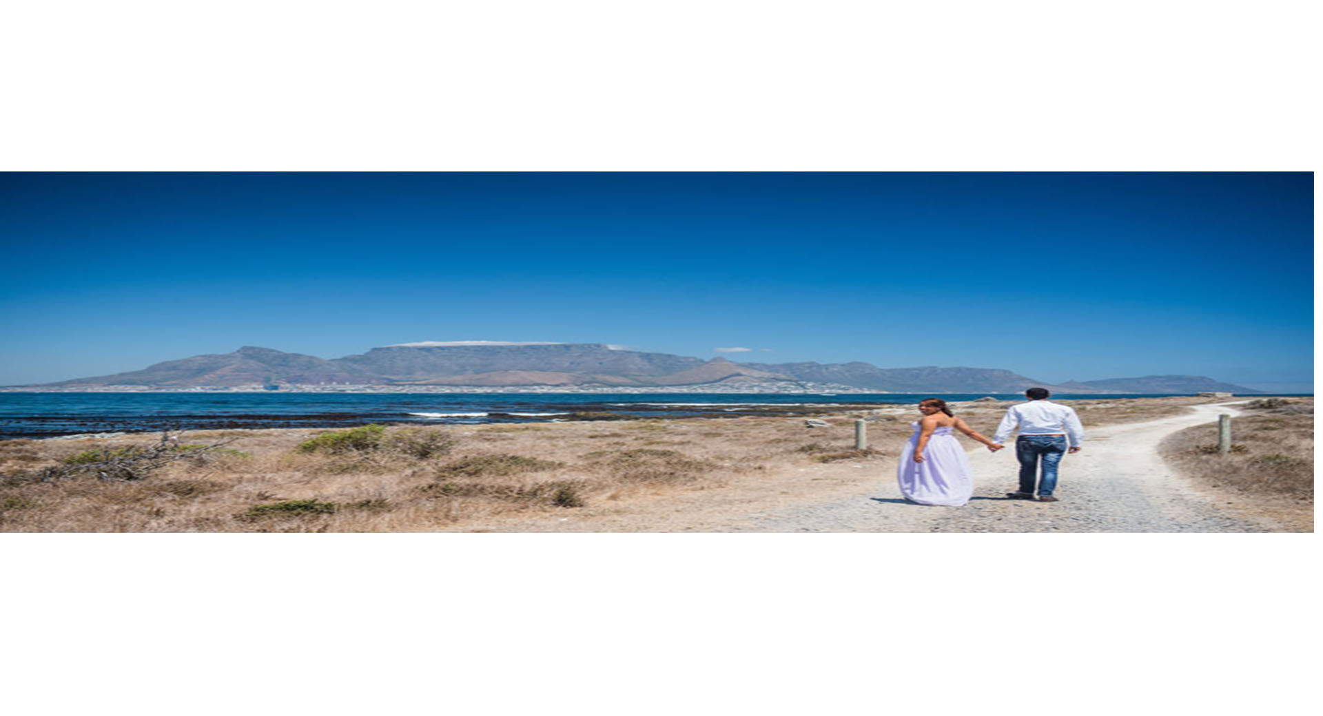 Getting married on Robben Island - Nubian Bride