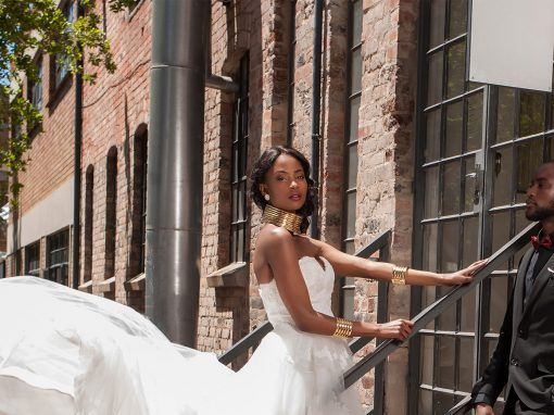 Nubian Bride fashion shoot video
