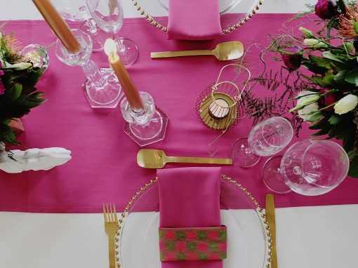 Decor Inspiration: Fuschia Rules